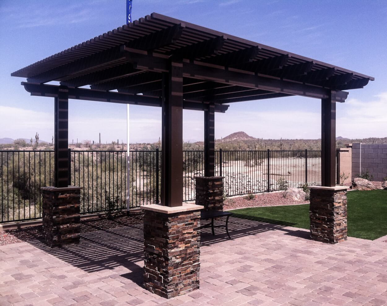 Pergolas - The Difference Between Ramadas, Pergolas And Gazebos - Straight Line