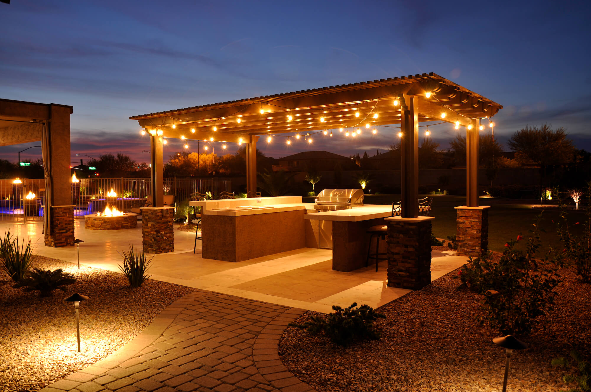 The Difference Between Ramadas Pergolas And Gazebos