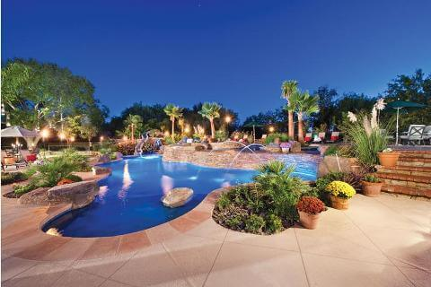 straight line pool designs and landscape