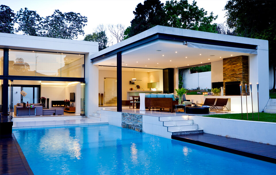 Design Inspiration - The Pool of Your Dreams - Straight Line Landscape