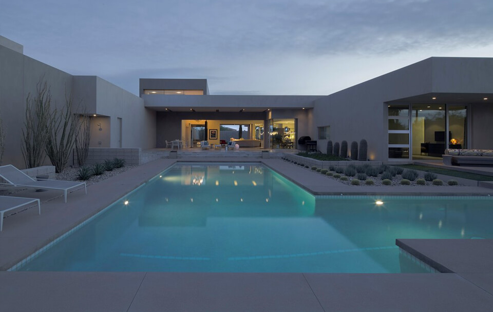 modern pool design phoenix