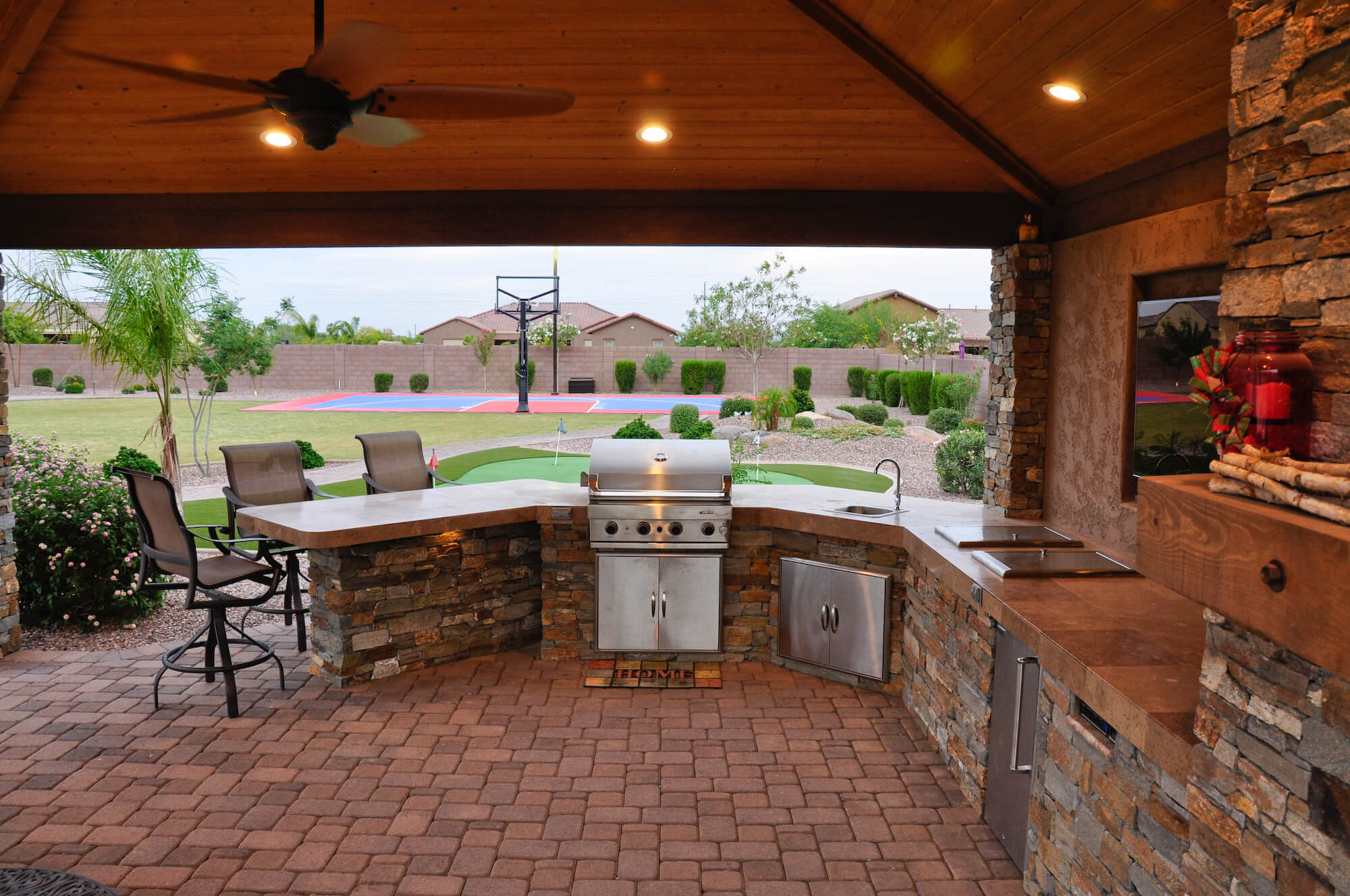 outdoor kitchen design phoenix