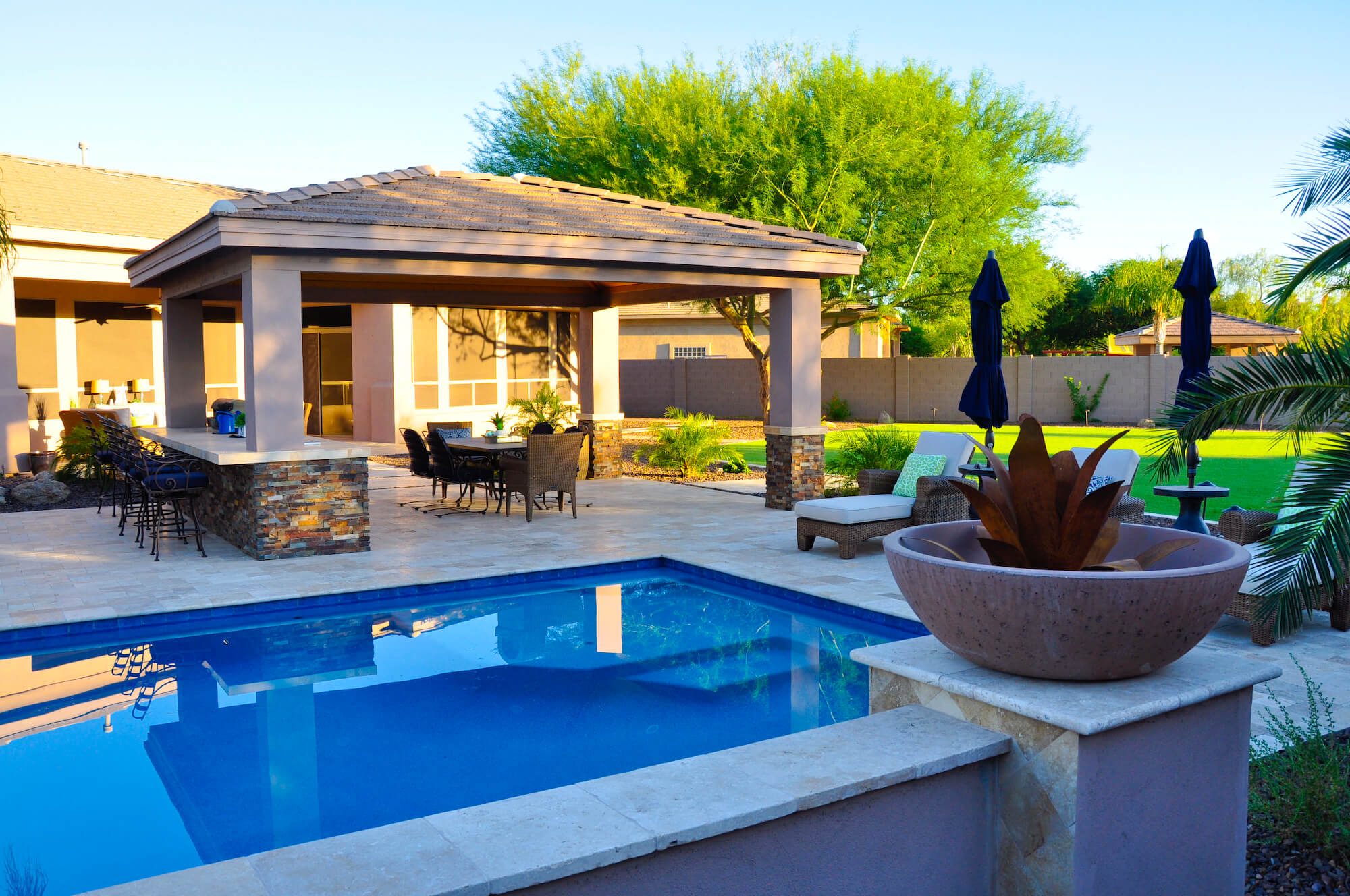 5 Pool Landscape Pool Feature Ideas For Phoenix Az
