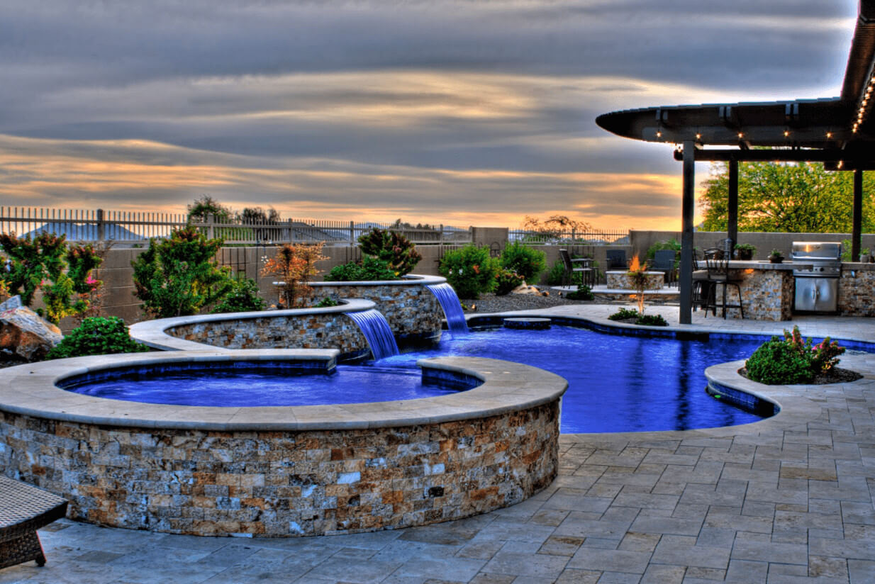 custom pool shapes