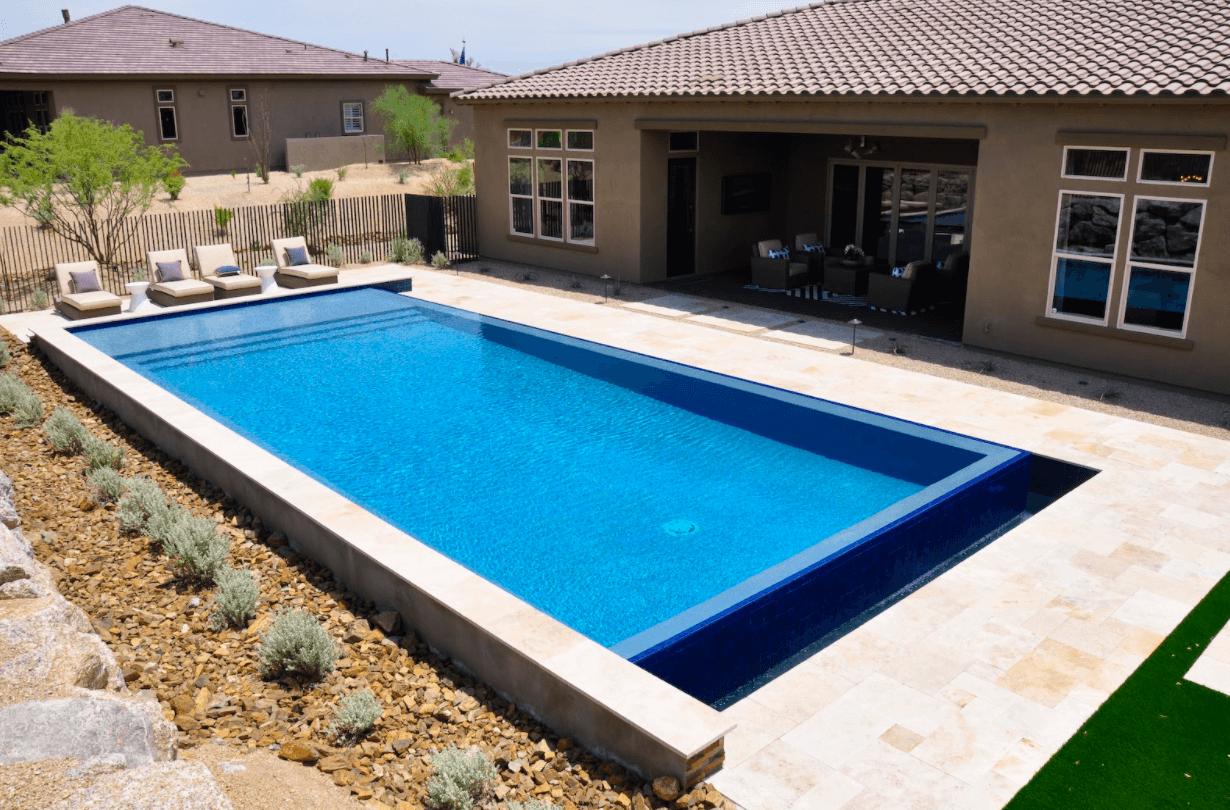 pool traditional shape