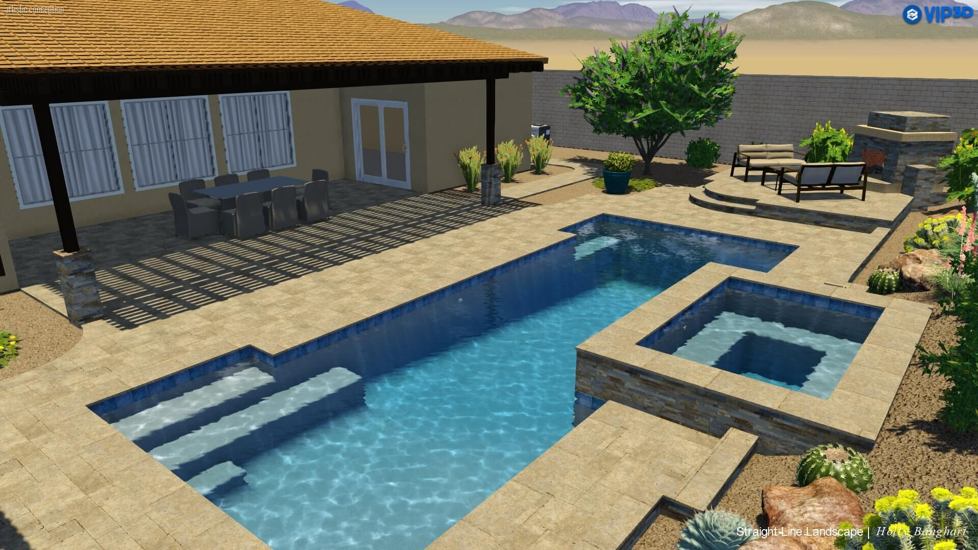 3 Pool Type Shape Ideas For Phoenix Az