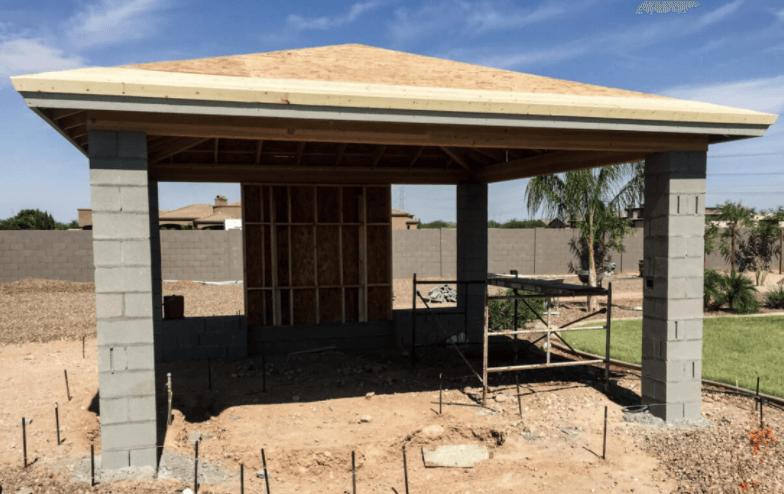 building a ramada