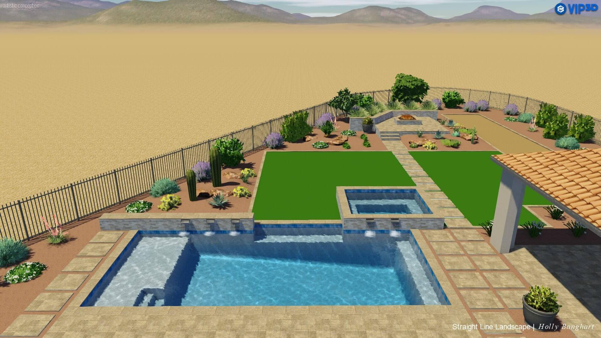 outdoor spa and turf arizona